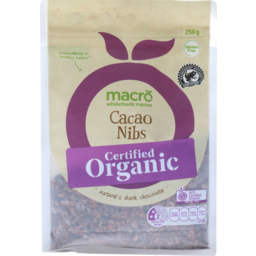 Photo of Macro Organic Cacao Nibs 250g