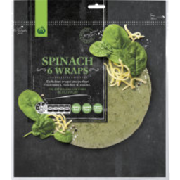 Photo of Wraps WW Spinach 6 Pack