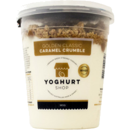 Photo of Yoghurt Shop Yoghurt Caramel Crmble 200gm