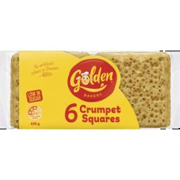Photo of Golden® 6 Crumpet Squares 425g