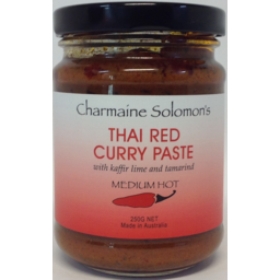 Photo of Charmaine Solomon's Thai Red Curry (260g)