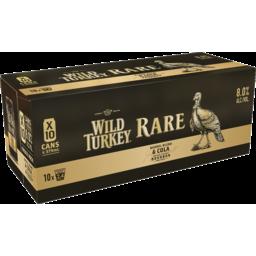Photo of Wild Turkey Rare 340ml 10 Pack