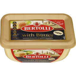 Photo of Bertolli With Butter Margarine And A Pinch Of Sea Salt 400g