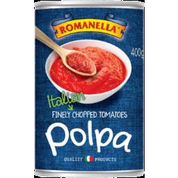 Photo of Romanella Polpa Italian Finely Chopped Tomatoes 400g