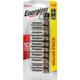 Photo of Energizer Max Battery Aa 16