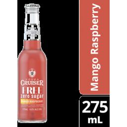 Photo of Vodka Cruiser Sugar Free Mango & Raspberry Bottles