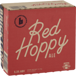 Photo of Brick Lane Red Hoppy Ale Can