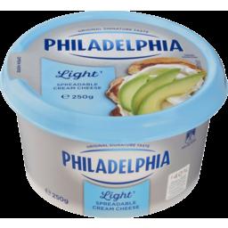 Photo of Philadelphia Cream Cheese Spreadable Light 250g 250g