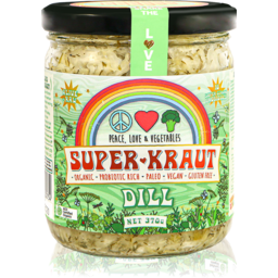 Photo of Peace Love & Vegetables Superkraut - Dill
