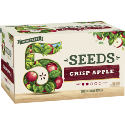 Photo of 5 Seeds Crisp Apple Cider Bottles