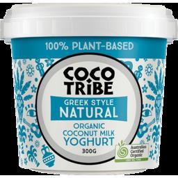 Photo of Coco Tribe Greek Style Natural Organic Coconut Milk Yoghurt 300g