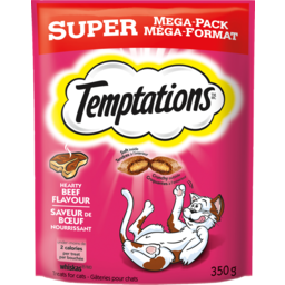 Photo of Whiskas Temptations Hearty Beef 350g