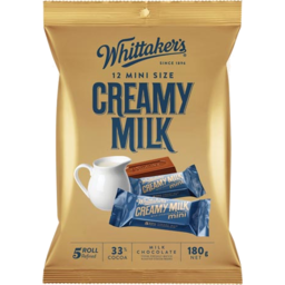 Photo of Whittakers Chocolate Share Pack Creamy Milk 12 Pack
