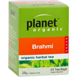 Photo of Planet Organic - Brahmi Tea - 25 Tea Bags - 45g