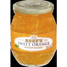 Photo of Rose's® Sweet Orange Marmalade Jam 500g