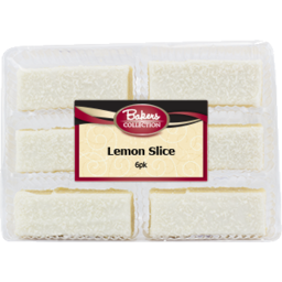 Photo of Baker's Collection Slice Lemon 6pk