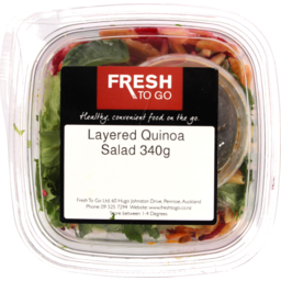 Photo of Fresh To Go Salad Layered Quinoa 340g
