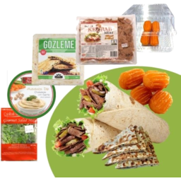 Photo of Lamb Kebab Meal Pack With Spinach & Cheese Gozleme