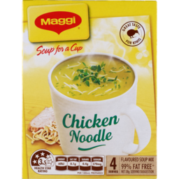 Photo of Maggi Soup For A Cup Chicken Noodle 4 Pack