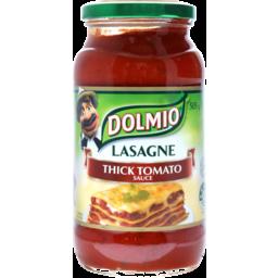 Photo of Dolmio Thick Tomato Lasagne Sauce 505g