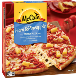 Photo of McCain Family Pizza Ham & Pineapple 500g