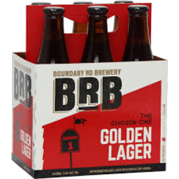 Photo of Boundary Road Brewery Lager 6 x 330ml Bottles