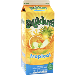 Photo of Mildura Sunrise Tropical Fruit Drink 2l