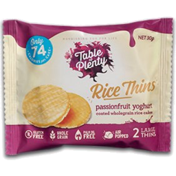 Photo of Top Rice Thins Passionfruit Yoghurt 30g