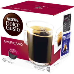 Photo of Nescafe Dolce Gusto Coffee Cafe Americano 16 Cap 160g 160g