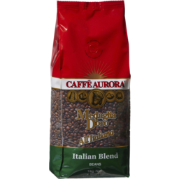 Photo of Caffé Aurora Italian Blend Beans 1kg