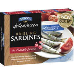 Photo of Safcol Brisling Sardines In Tomato 110g