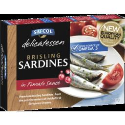 Photo of Safcol Brisling Sardines In Tomato Sauce 110g