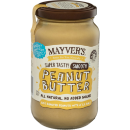 Photo of Mayver's Smooth Peanut Butter 375g