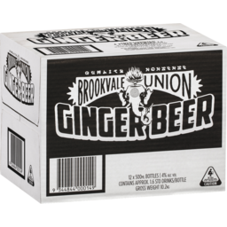 Photo of Brookvale Union Ginger Beer Bottles