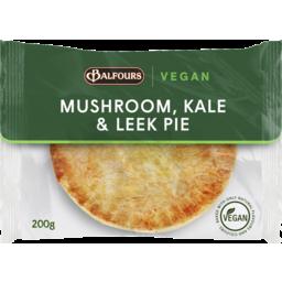 Photo of Balfours Mushroom, Kale & Leek Pie 200g