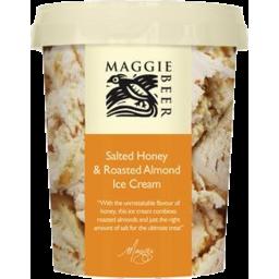 Photo of Maggie Beer Salted Honey Roasted Almond Ice Cream 500ml