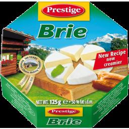 Photo of Prestige Brie Cheese 125g