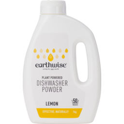 Photo of Earthwise - Dishwasher Powder Lemon
