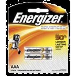 Photo of Energizer Advanced AAA 2pk
