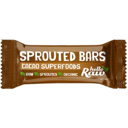 Photo of Hello Raw Sprout Bar Cacao Superfood 45g
