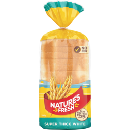 Photo of Natures Fresh Bread Super Thick White Toast 700g
