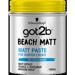 Photo of Schwarzkopf Got2b Beach Matt Paste 100ml