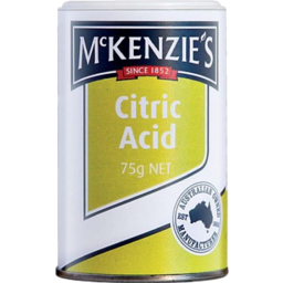 Photo of Mackenzies Citric Acid 75gm