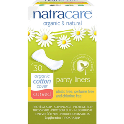 Photo of Natracare Panty Liners - Curved 30 Pack