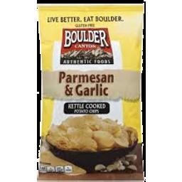 Photo of Boulder Parmesan & Garlic Chips 142g