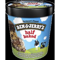Photo of Ben & Jerrys Half Baked 458ml