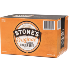 Photo of Stones Original Alcoholic Ginger Beer Stubbies