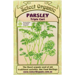 Photo of Select Organic Seeds - Parsley (triple curly) 200 seeds