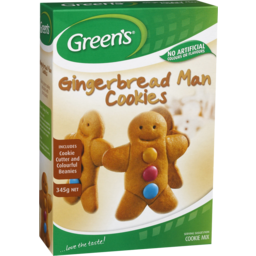 Photo of Green's Gingerbread Man Cookies Mix 345gm
