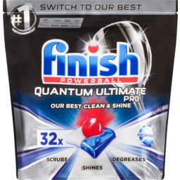 Photo of Finish Powerball Quantum Ultimate Pro Original 32 Pack